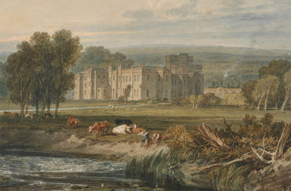 Painting - View Of Hampton Court, Herefordshire From The Southeast by Joseph Mallord William Turner