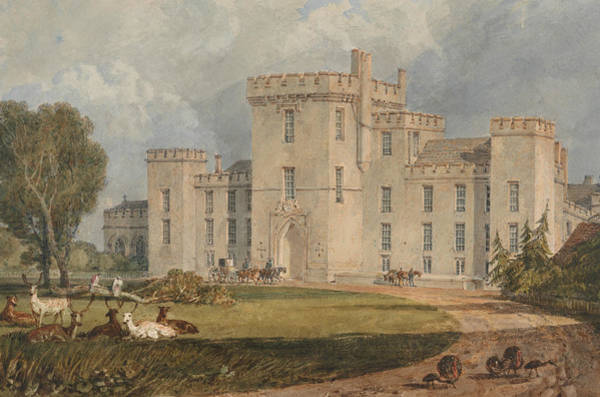 Painting - View Of Hampton Court, Hertefordshire, From The Northwest by Joseph Mallord William Turner