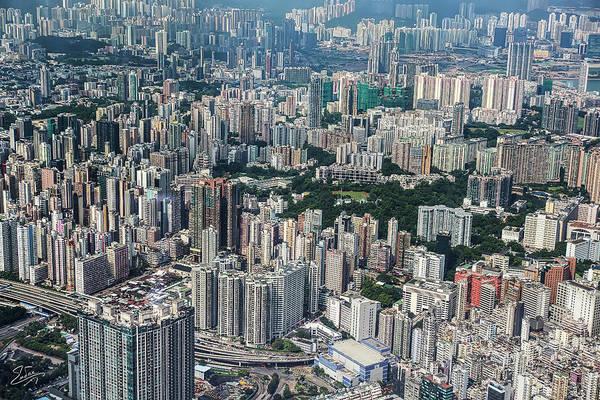 Photograph - View Of Hong Kong by Endre Balogh