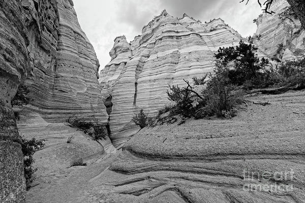 Land Of Enchantment Photograph - View Of Kasha Katuwe Tent Rocks Slot Canyon - Jemez Mountains New Mexico by Silvio Ligutti