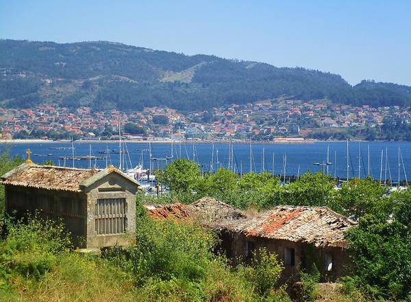 Galicia Photograph - View Of Meira by Rosita Larsson