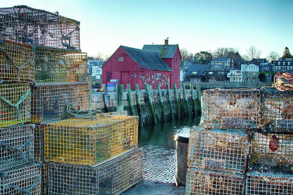 Photograph - View Of Motif Through Lobster Pots by Jeff Folger