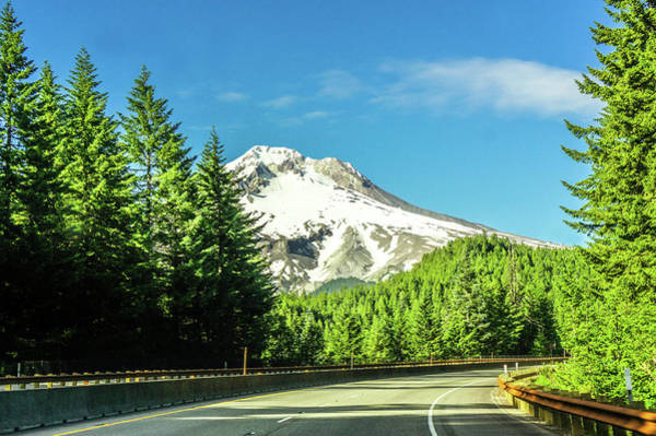 Wall Art - Photograph -  Road To Mount Rainier  by Art Spectrum
