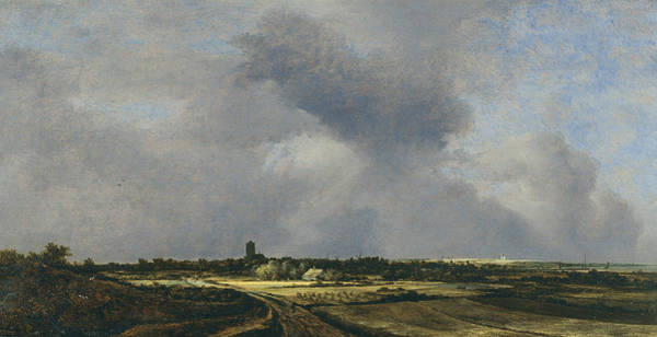 17th Century Wall Art - Painting - View Of Naarden by Jacob van Ruisdael