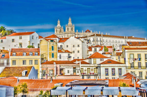 Photograph - View Of Old Alfama by Julie Palencia