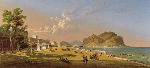 Painting - View Of Palermo by Robert Salmon