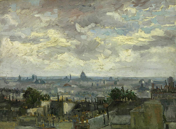 Painting - View Of Paris by Vincent van Gogh