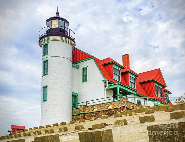 Photograph - View Of Point Betsie by Nick Zelinsky