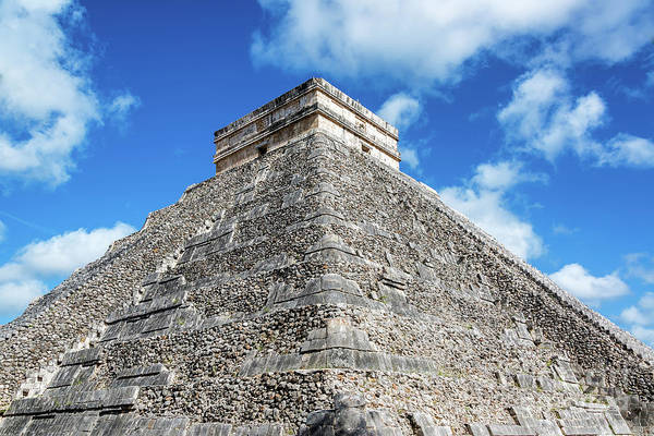 Kukulcan Photograph - View Of Pyramid Of Kukulcan by Jess Kraft