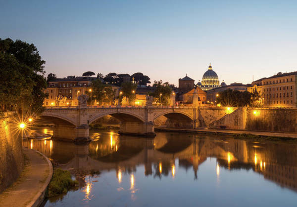 Photograph - View Of Rome by Rob Davies
