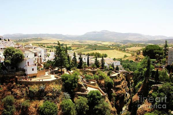 Montain Photograph - View Of Ronda  by Jackie Mestrom