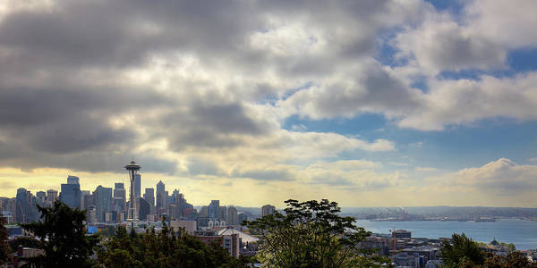 Photograph - View Of Seattle From Kerry Park by David Patterson