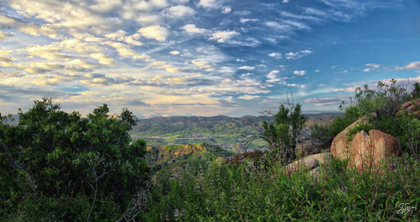 Photograph - View Of Simi Valley by Endre Balogh
