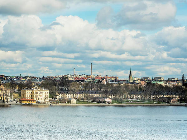 Photograph - View Of Stockholm by Robin Zygelman