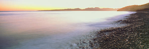 Sea Of Cortez Photograph - View Of Sunrise Over Pacific Ocean by Panoramic Images