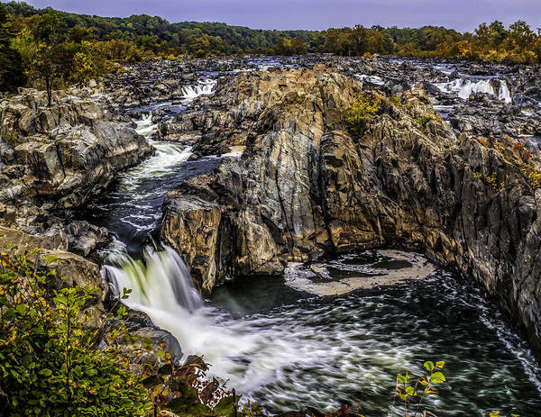 Photograph - View Of The Great Falls by Nick Zelinsky