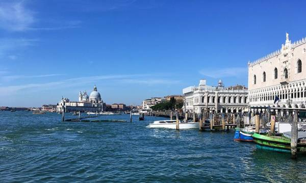 Photograph - View Of The San Marco From The Pier Of Gondoliers by Marina Usmanskaya