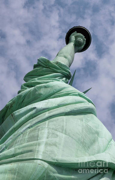 Wall Art - Photograph - View Of The Statue Of Liberty by American School