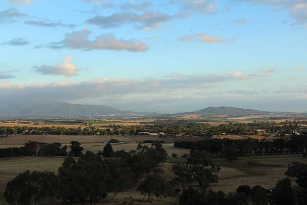 Photograph - View Of The Yarra Valley No2 26-01-2015 by Bert Ernie
