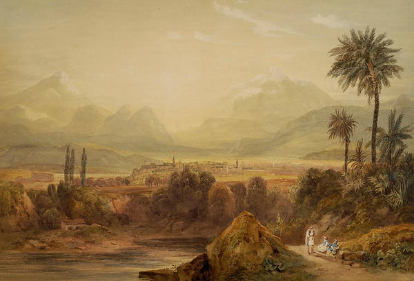 Painting - View Of Thebes by Hugh William Williams
