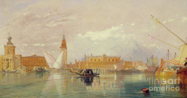 Wall Art - Painting - View Of Venice, 1867 by James Baker Pyne
