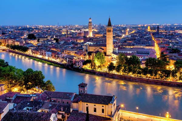 Photograph - View Of Verona by Fabrizio Troiani