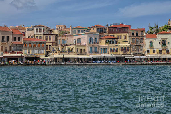 Wall Art - Photograph - View On Chania In Crete by Patricia Hofmeester