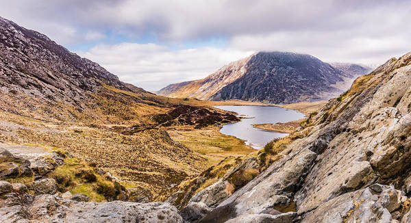 Photograph - View On Idwar Cwm by Nick Bywater