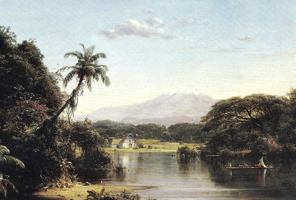 Painting - View On The Magdalena River by Reynold Jay