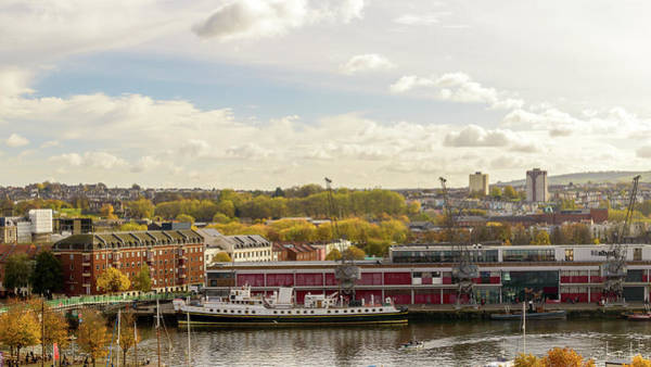 Photograph - View Over Bristol A by Jacek Wojnarowski