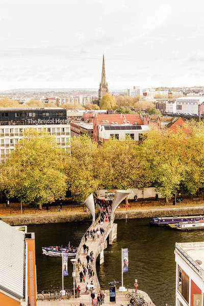 Photograph - View Over Bristol B by Jacek Wojnarowski
