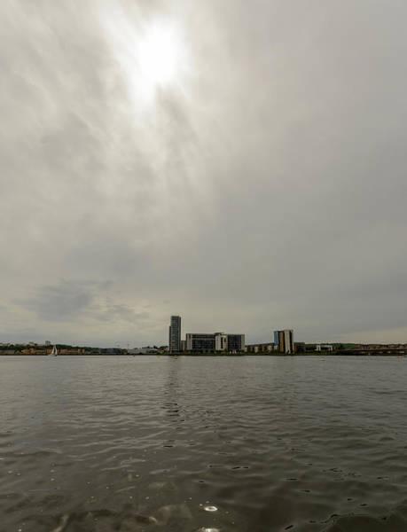 Photograph - View Over Cardiff Bay E by Jacek Wojnarowski