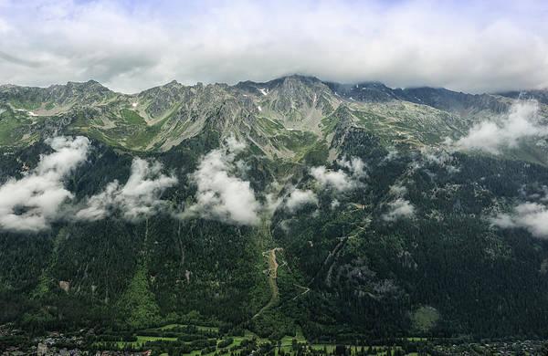 Photograph - View Over Chamonix by Chris Boulton