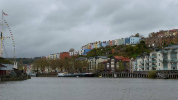 Photograph - View Over Colorful Houses In Clifton Bristol by Jacek Wojnarowski