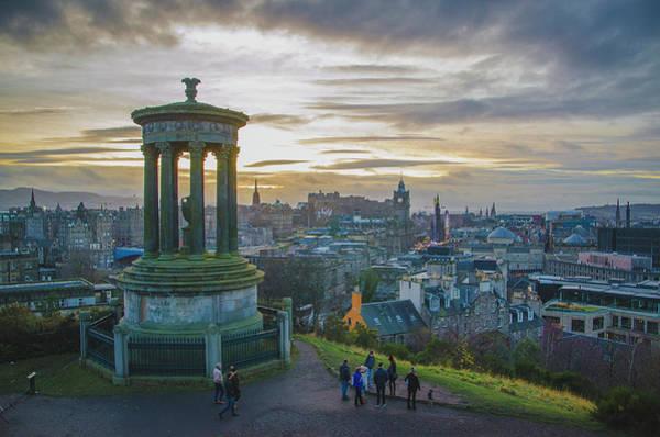 Photograph - View Over Edinburgh by Edyta K Photography
