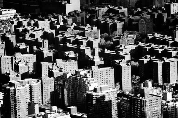 Wall Art - Photograph - view over stuyvesant town and peter cooper village postwar housing projects lower manhattan New York by Joe Fox