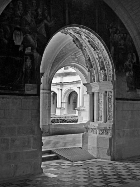 Fontevraud Photograph - View Through An Arch by Dave Mills