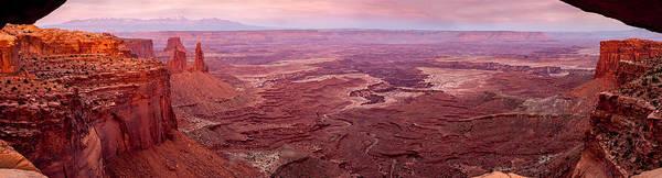 Photograph - View Through Mesa Arch by TL  Mair
