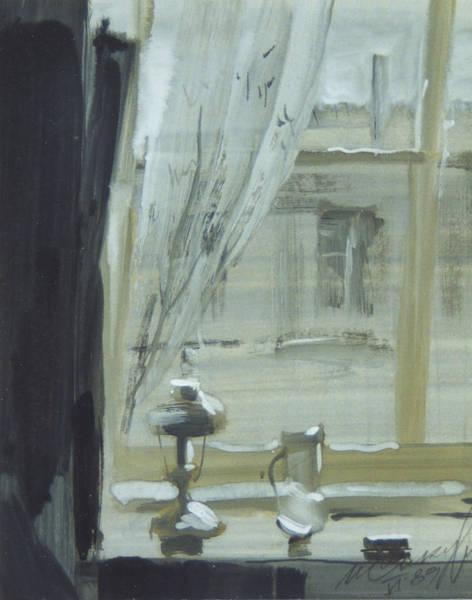 Painting - View Through The Window by Igor Sakurov