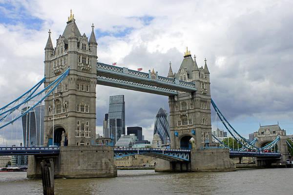 Photograph - View Through Tower Bridge by Tony Murtagh