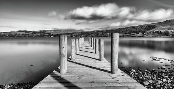 Pooley Bridge Wall Art - Photograph - View To Helvellyn  by Naylors Photography