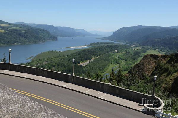 Photograph - View To The East Of Crown Point by Carol Groenen
