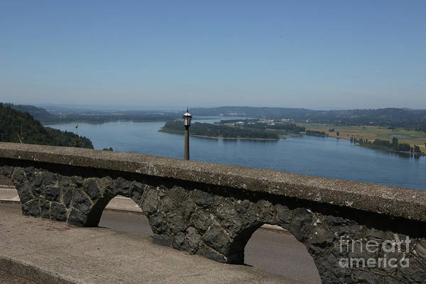 Photograph - View To The West Of Crown Point by Carol Groenen