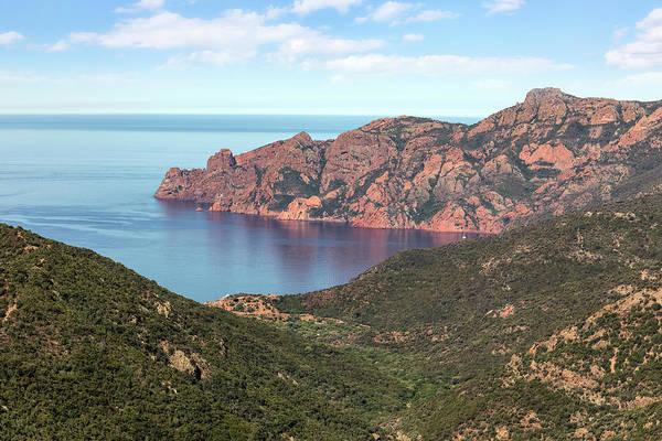 Calvi Photograph - viewpoint La Scandola - Corsica by Joana Kruse