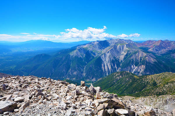 Photograph - Views From Mt. Princeton by Kate Avery