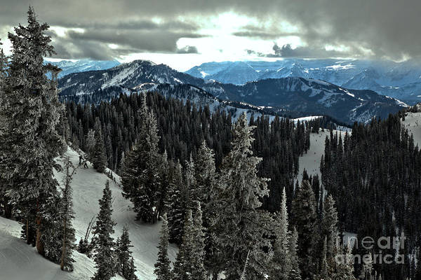Photograph - Views From The Great Western Chair by Adam Jewell