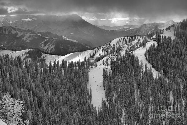 Photograph - Views From The Western Trail Black And White by Adam Jewell