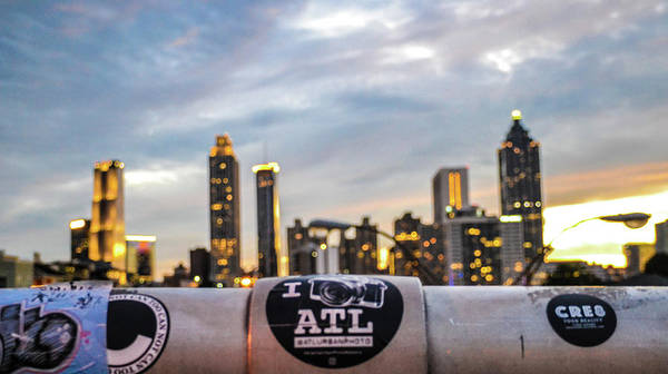Hotlanta Photograph - Views Of Atlanta by Kennard Reeves