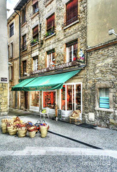 Photograph - Views Of Vienne France by Mel Steinhauer