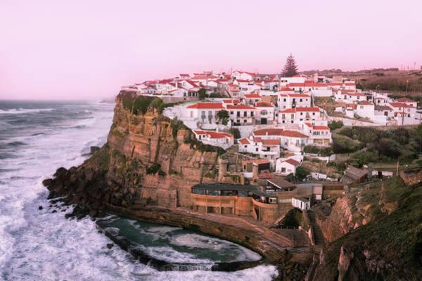 Azenhas Photograph - Views On Azenhas Do Mar - Portugal by Nico Trinkhaus